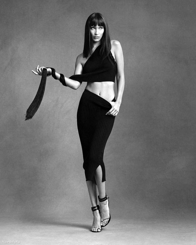 Bella Hadid egy modell, aki abból él, hogy szép és fotózzák, így nyilván nem elsöprő erejű újdonság az, hogy készült róla egy káprázatos fotó.Viszont ez a Helmut Lang-reklámfotó annyira jó lett róla, hogy kénytelen vagyok kijelenteni: ez a nap képe.