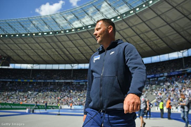Dárdai Pál a Hertha vezetőedzőjeként 2019 májusában.