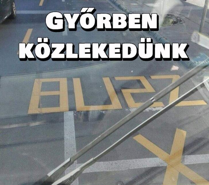 Kép: Győrben közlekedünk Fb-csoport