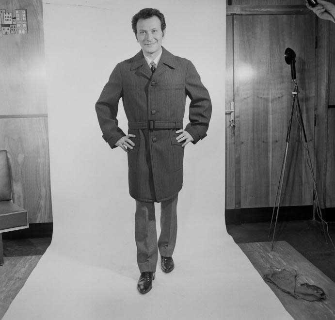 Korda György 1969-ben, harmincévesen egy fotózáson