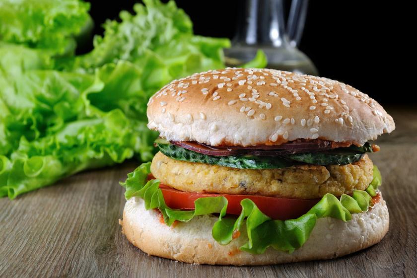 csicseriborsó burger recept