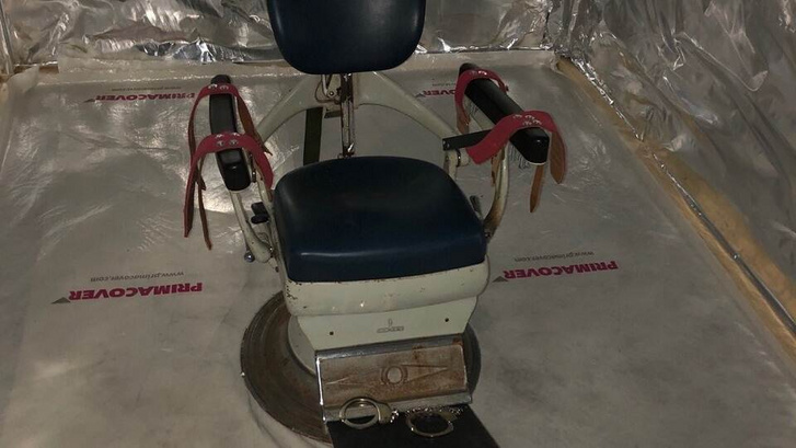 Fogászati szék a kínzókamrában