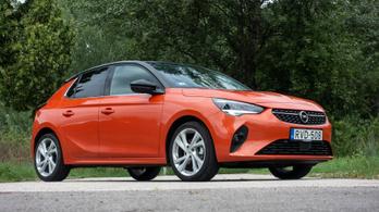 Teszt: Opel Corsa GS line 1,2 T - 2020.
