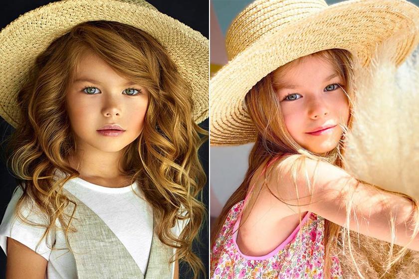 A 7 éves Alina a világ legszebb kislánya most: 4 éves kora óta modellkedik