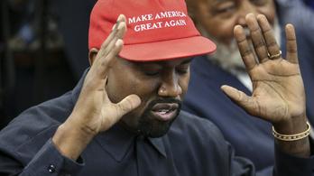 Kanye West már nem támogatja Trumpot!