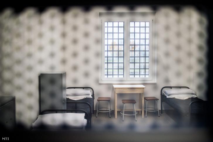 Az állampusztai börtön egyik zárkája.