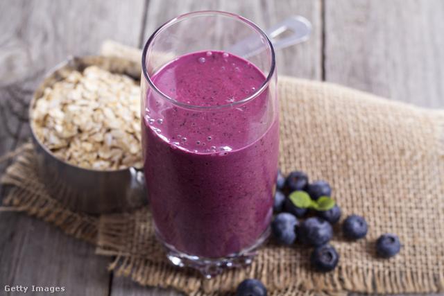 Friss és egészséges: zabpehellyel, zöldséggel, gyümölccsel.