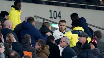Négy hónap után kapta meg büntetését a Tottenham játékosa