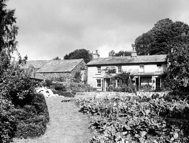 Beatrix Potter otthona, a Hill Top Farm