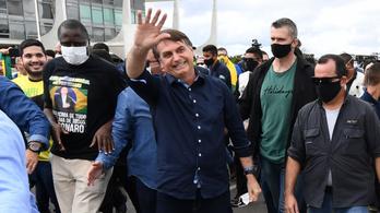 Jair Bolsonaro maszk nélküli útja a koronavírusig