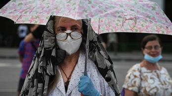 Rekordot döntött a napi új fertőzöttek száma Romániában