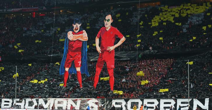 Élőkép a Bayern München-Borussia Dortmund Német Kupa-elődöntő előtt 2015. április 28-án, Münchenben.