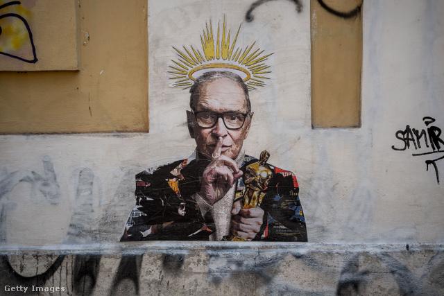 Harry Greb grafittiművész ezzel a festménnyel rótta le tiszteletét a híres zeneszerző előtt