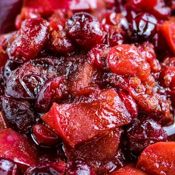 Vitamindús, fűszeres vörösáfonya chutney – Édes és sós ételekhez is tökéletes