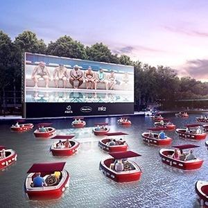 Ilyesmi lesz a mozi a vízen
