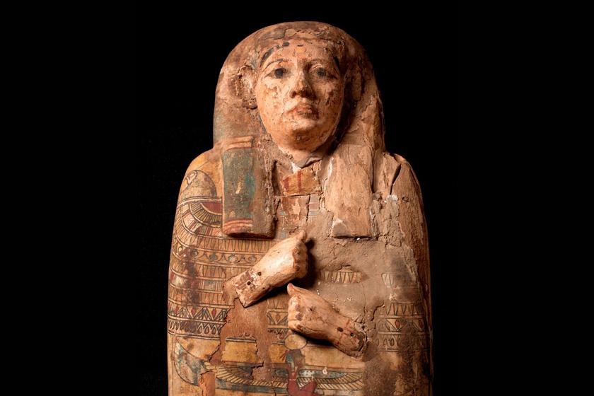 Mindvégig a festett képek felett feküdt a múmia: 100 év után, véletlen derült ki, mit rejt a szarkofág