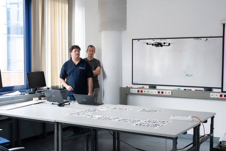 Drónt röptetnek a BME kutatói