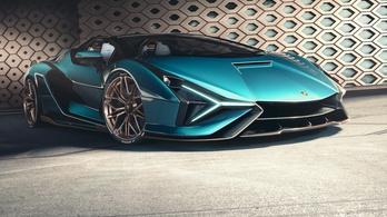 Új szupersportkocsi a Lamborghinitől