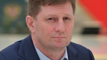Otthonánál fogták el kommandósok a habarovszki kormányzót