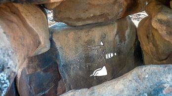 Négyezer éves kővéséseket találtak rejtélyes izraeli kőtömbökben