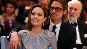 Rendeződni látszik a viszony Angelina Jolie és Brad Pitt között