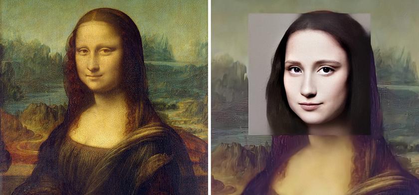 Leonardo da Vinci: Mona Lisa.
