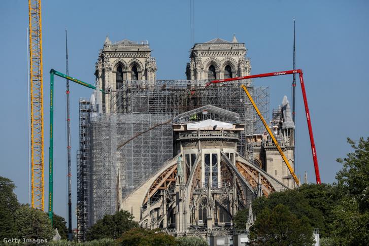 A Notre-Dame 2020. június 23-án