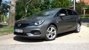 Teszt: Opel Astra Sports Tourer GS Line 1.5D - 2020.