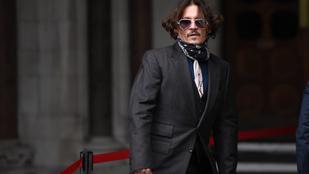 Johnny Deppről viccesen pocsék bírósági rajz készült