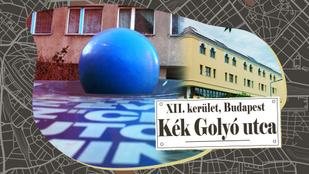 Innen kapta nevét a Kék Golyó utca
