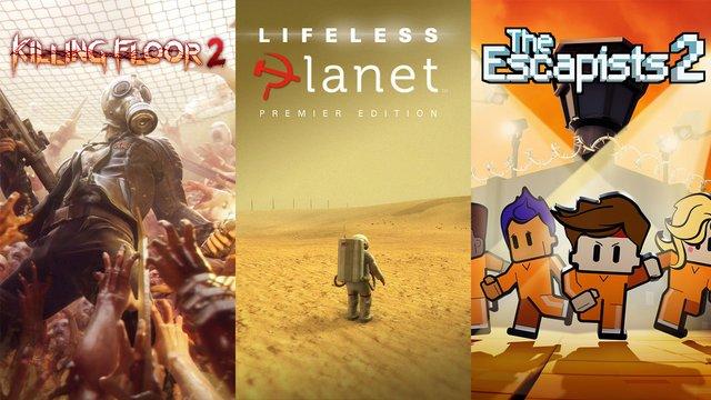 Ingyen Killing Floor 2, Lifeless Planet, The Escapists 2!