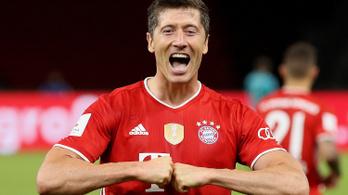 A játékostársak szerint Lewandowski az idény legjobb focistája Németországban