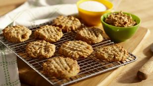Teszt: ez a legtökéletesebb recept mogyoróvajas kekszhez