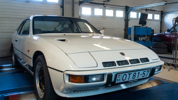 Totalcar erőmérő: Porsche 924 Turbo