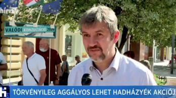 A Hír TV elképzelhetőnek tartja, hogy egy újságíró egy postafiókban lakjon