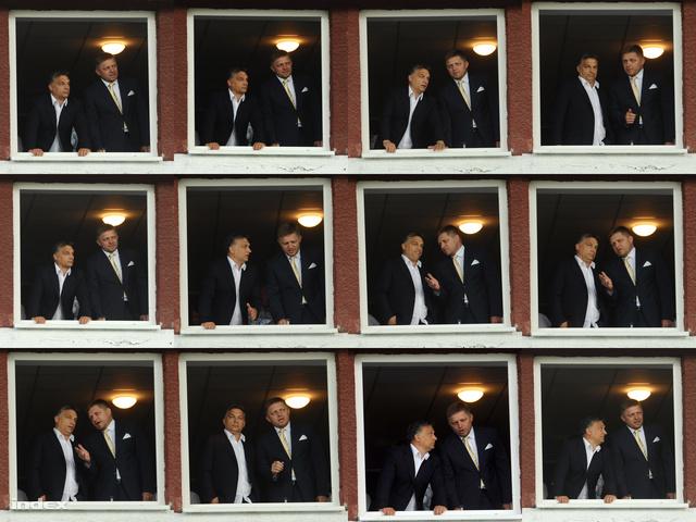 Orbán Viktor és Robert Fico egy Videoton mérkézésen találkoztak legutóbb