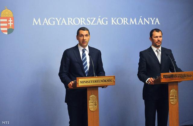 Lázár János és Giró-Szász András bejelentik a nyerőgépek betiltását