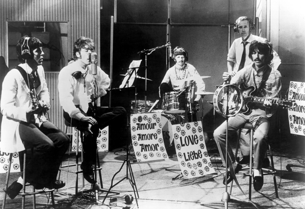 Az All You Need Is love televíziós felvétele 1967. június 25-én. Ez volt az első világméretű műholdas közvetítés. Az Our Worldben többek között olyanok szerepeltek, mint Maria Callas vagy Pablo Picasso, a műsort pedig a Beatles zárta.