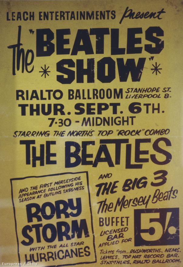 Miután Bestet kirúgták 1962-ben, Ringo Starr került a zenekarba, aki ugyanazokban a hamburgi klubokban játszott a liverpooli Rory Storm and the Hurricanes dobosaként, mint a Beatles. Sőt, gyakran konkrétan együtt léptek fel, ahogy ez a fenti, korabeli plakáton is látszik.