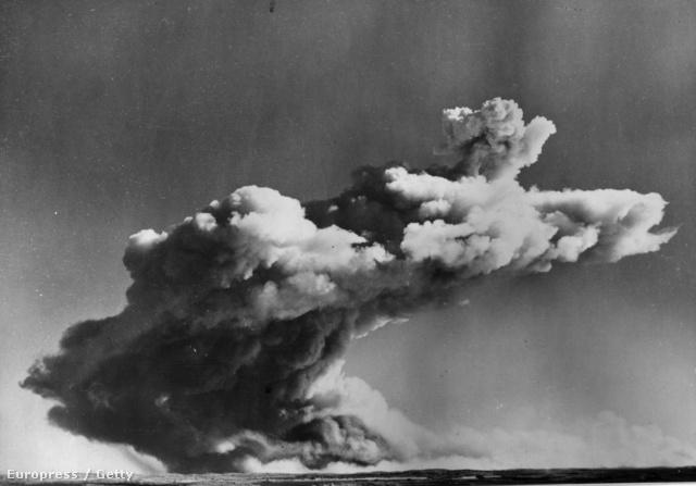A Montebello robbantás