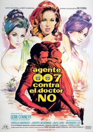 A Dr. No ponyvákat idéző plakátja 1962-ből