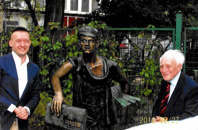 Szőke Lajos büszke rá, hogy újra van szobra Budapesten