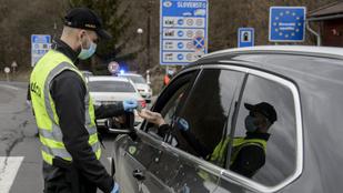 Szlovákia egy napra visszaállítja a határellenőrzést a vírus miatt
