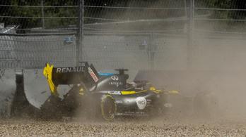Ricciardo csúnyán megtörte a Renault-t a Stájer GP 2. edzésén