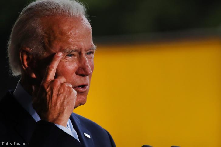 Joe Biden 2020. július 9-én.