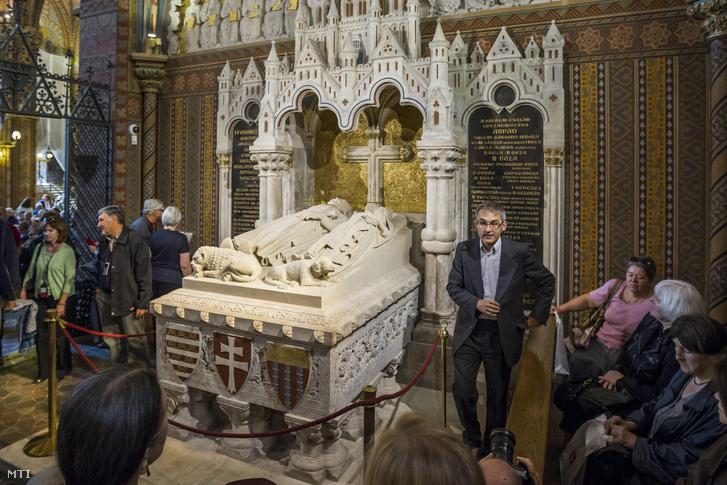 III. Béla sírja a Mátyás-templomban