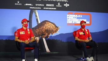Megrovást kaptak a Ferrari pilótái