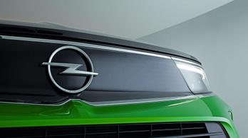 Új logót kapnak a jövő Opeljei