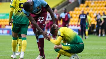 A Norwich a Premier League kiesőrekordere lett