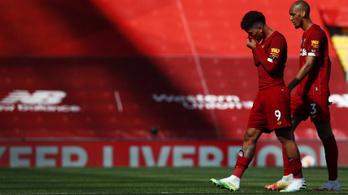 Másfél év után először nem nyert otthon a Liverpool